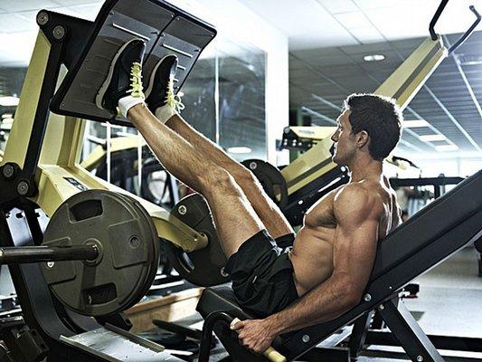 Good diet for Leg press machine workout