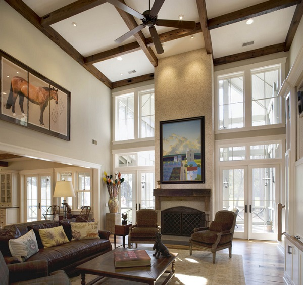 Modern Interior Design With Decorative Ceilings