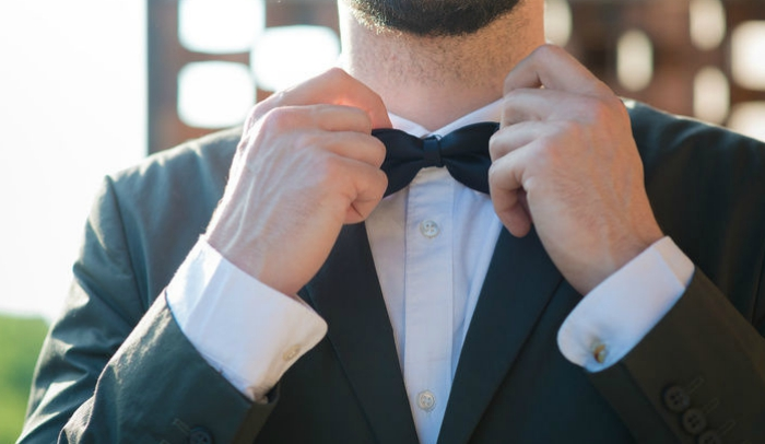 The batwing bow ties
